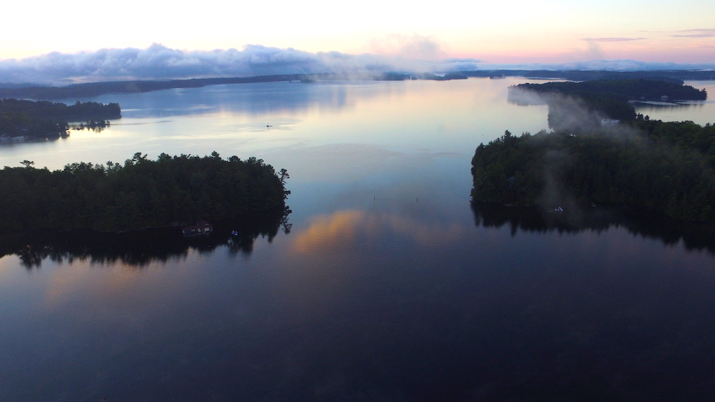 Productive Morning Routine Steve Dolson Drone Picture Muskoka