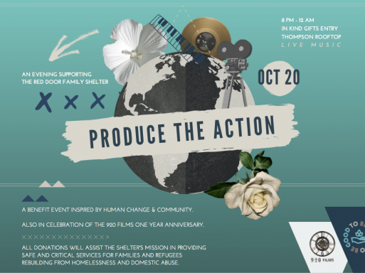 "You Are Invited To The ""Produce The Action"" Event on October 20th."