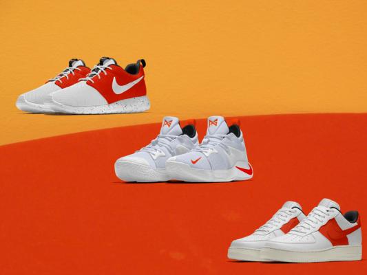 LXRY X Team Orange Nike Shoe Concepts