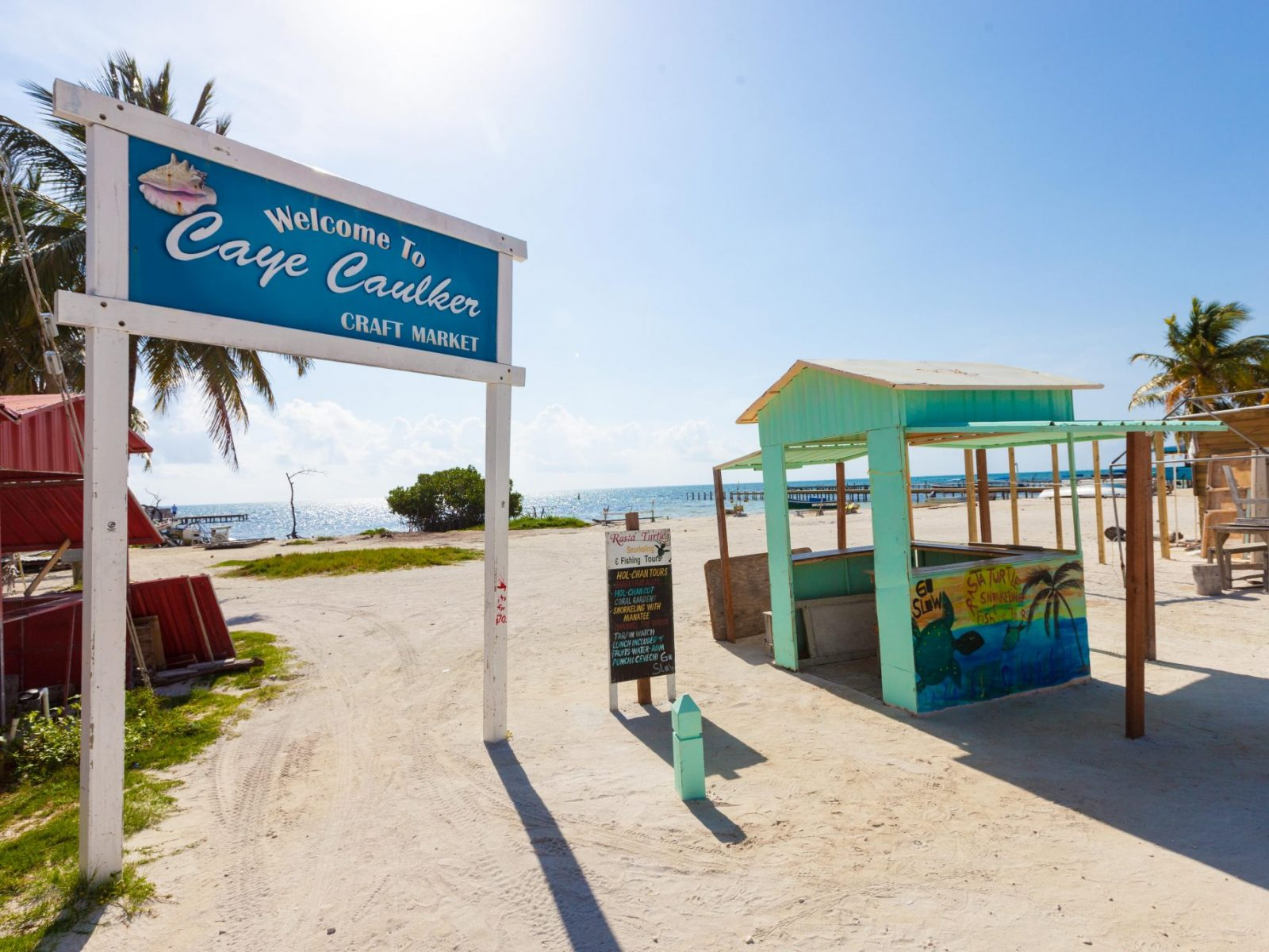 Going Slow Is A Way Of Life In Caye Caulker, Belize