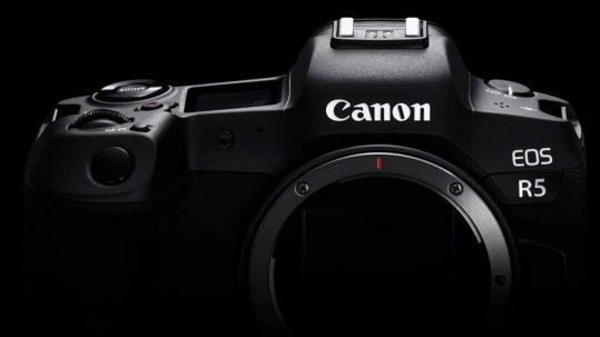 Canon EOS R5, New Canon Mirrorless Camera