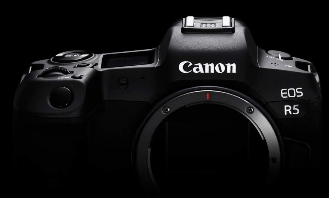 Canon EOS R5, New Canon Mirrorless Camera